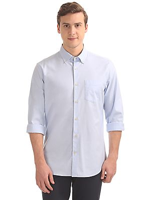 Button Down Oxford Shirt White