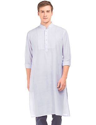 Long Sleeve Regular Fit Kurta