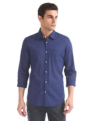 Modern Slim Fit Printed Shirt