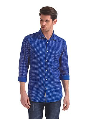 Modern Slim Fit Techno Cool Shirt