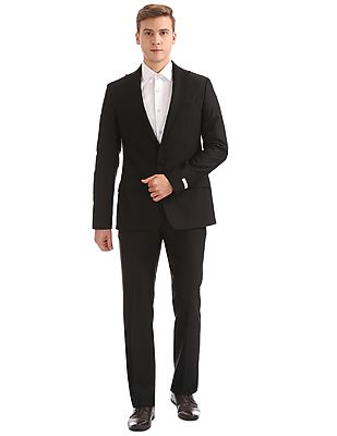 Peak Lapel Collar Single Breasted Suit