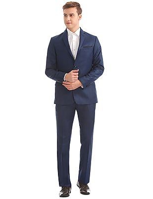 Regular Fit Single Breasted Suit